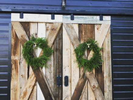 Christmas Wreaths for The Barn at Three Oaks Farm