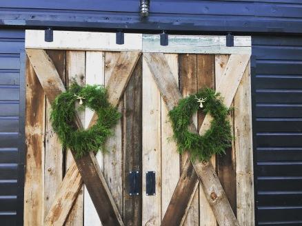 Christmas Wreaths for The Barn at Three Oaks Farm